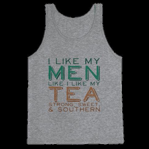 Southern Men Tank Tank Top
