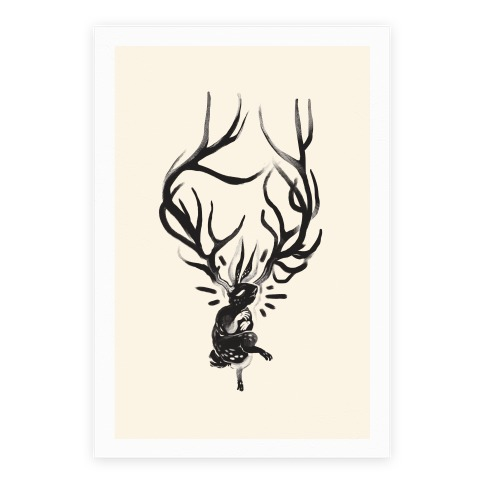 A Jackalope's Lullaby Poster