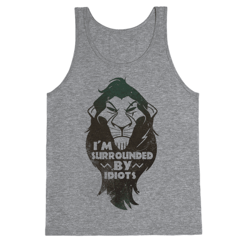 Surrounded by Idiots (Scar) Tank Top