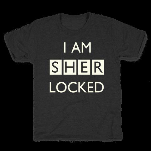I am Sherlocked Kids T-Shirt