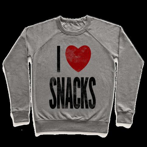 I Love Snacks Pullover