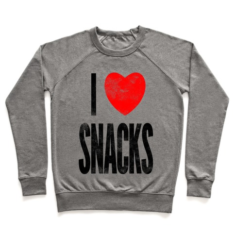 I Love Snacks Pullover