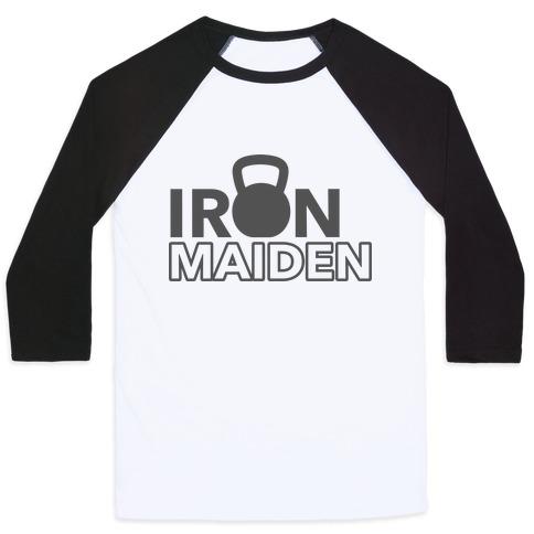 Iron Maiden (Kettlebell) Baseball Tee