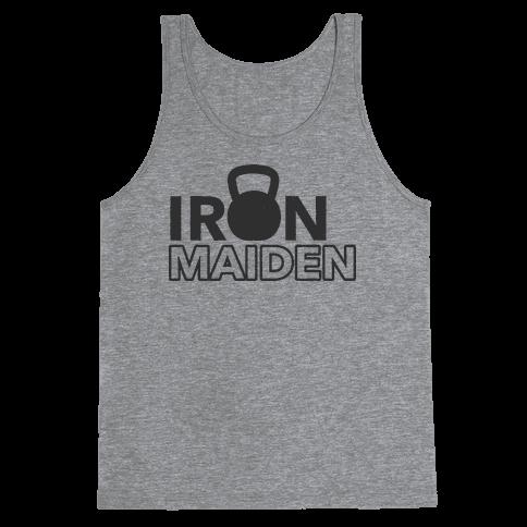 Iron Maiden (Kettlebell) Tank Top