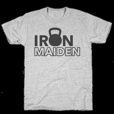 Iron Maiden (Kettlebell) Mens/Unisex T-Shirt