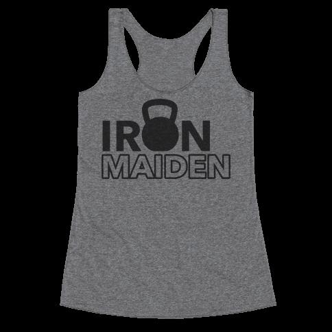 Iron Maiden (Kettlebell) Racerback Tank Top