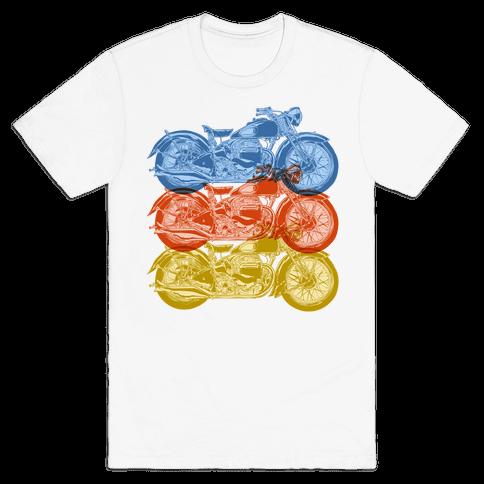 Motorcycle Mens T-Shirt