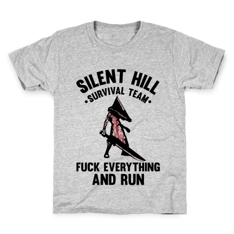 Silent Hill Survival Team F*** Everything And Run Kids T-Shirt