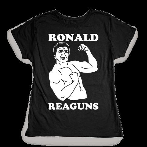 Ronald Reaguns Womens T-Shirt