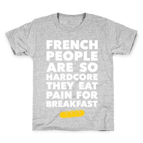 Pain For Breakfast Kids T-Shirt