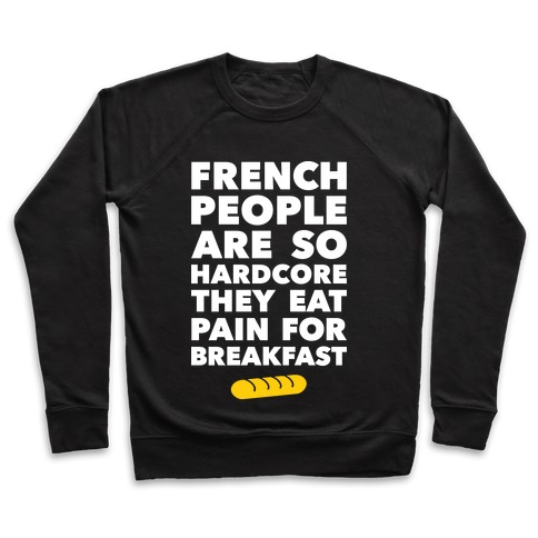 Pain For Breakfast Pullover