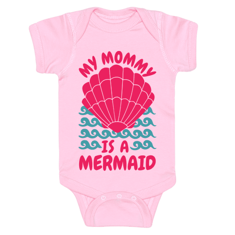 My Mommy is a Mermaid Baby Onesy