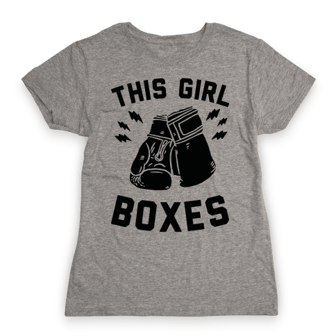 This Girl Boxes Womens T-Shirt