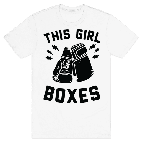 This Girl Boxes Mens T-Shirt