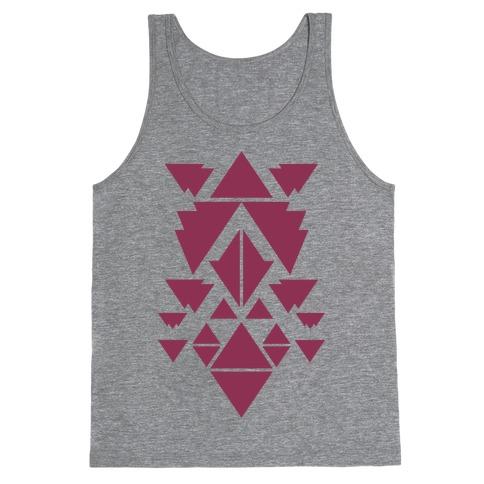 Aztec Pattern (Purple) Tank Top