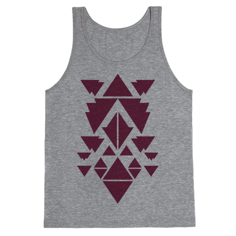 Aztec Pattern (Purple) Tank Top