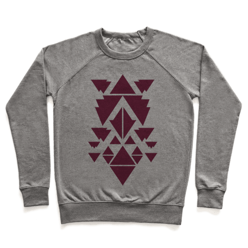 Aztec Pattern (Purple) Pullover