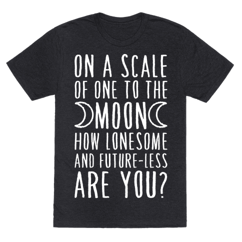 On a Scale of One to the Moon How Lonesome and Future-Less are You?