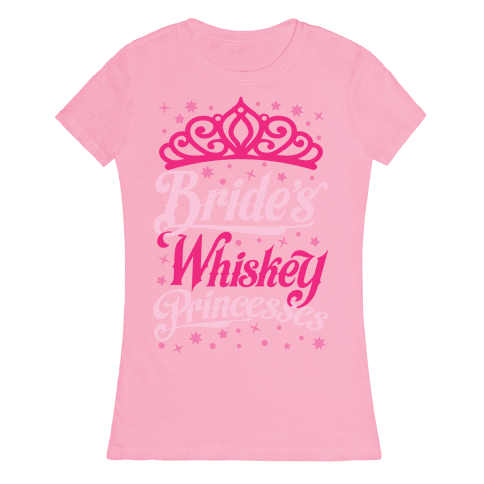 Bride's Whiskey Princesses