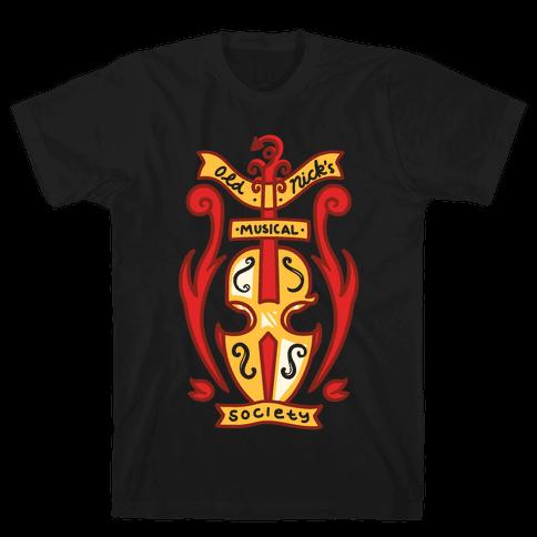 Old Nick's Musical Society Mens T-Shirt