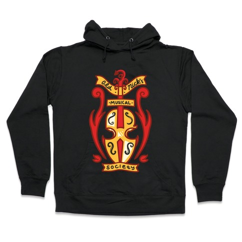 Old Nick's Musical Society Hooded Sweatshirt