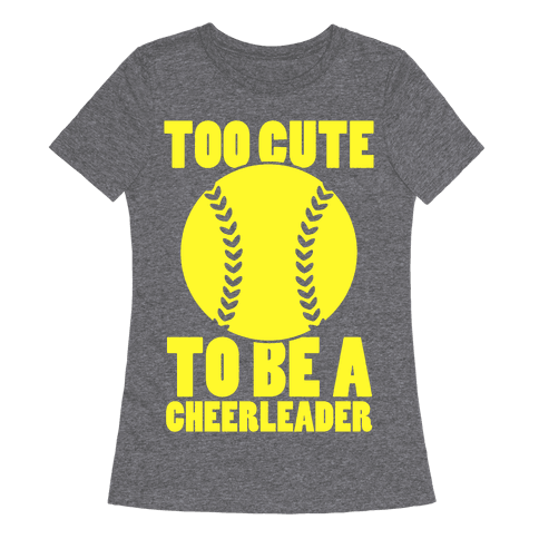 Too Cute To Be a Cheerleader