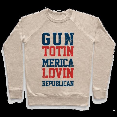 Gun totin Merica Lovin  Pullover