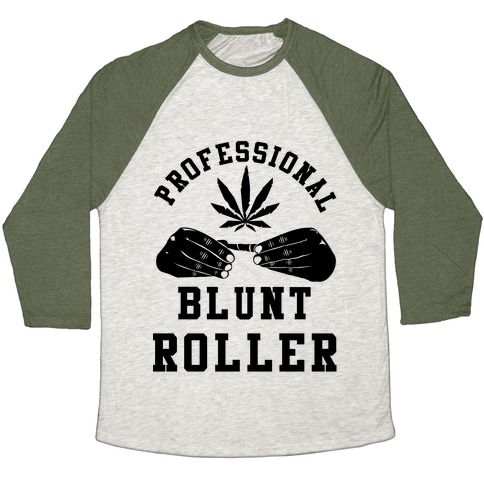 Professional Blunt Roller Baseball Tee
