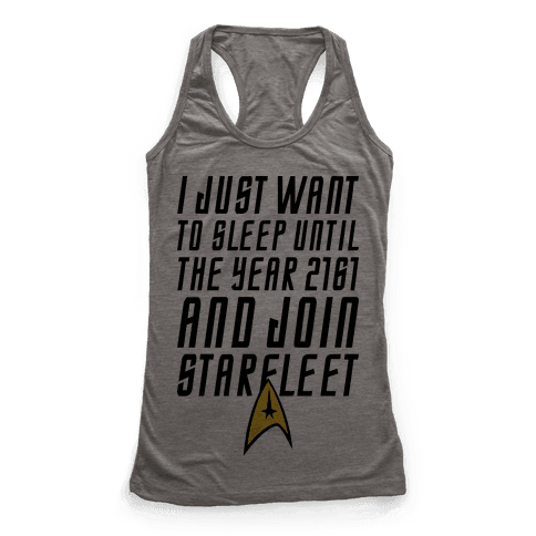 Join Starfleet Racerback Tank Top