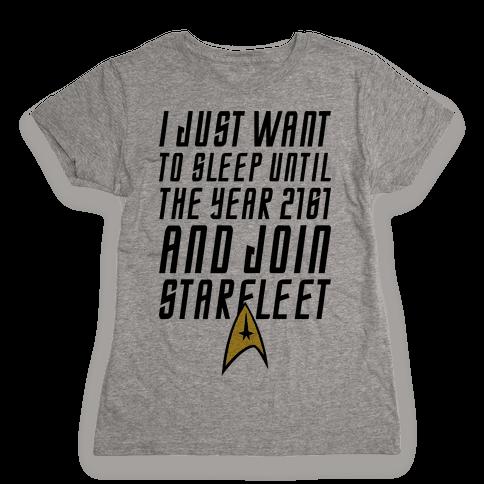 Join Starfleet Womens T-Shirt