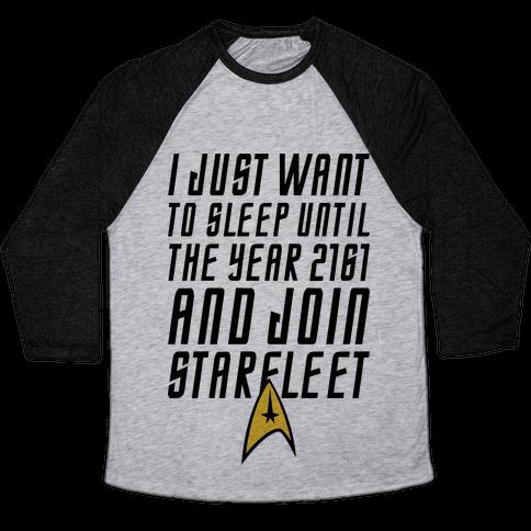 Join Starfleet Baseball Tee