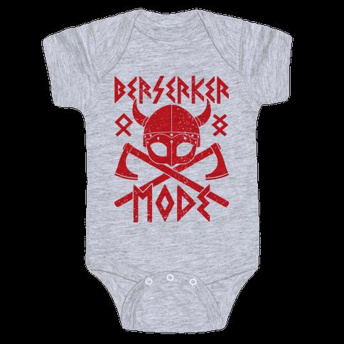 Berserker Mode Baby Onesy