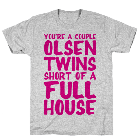 A Couple Olsen Twins Short Mens T-Shirt