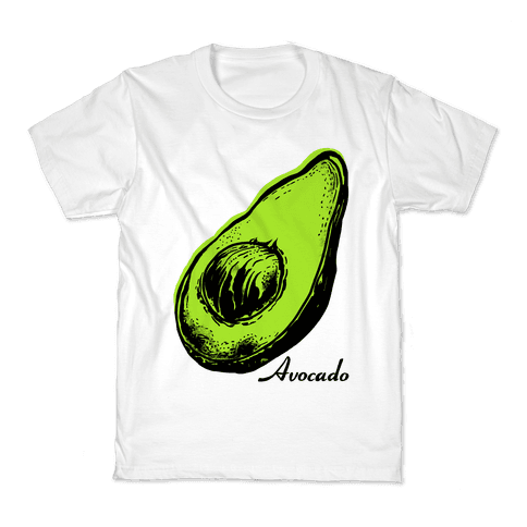 Pop Art Avocado Kids T-Shirt