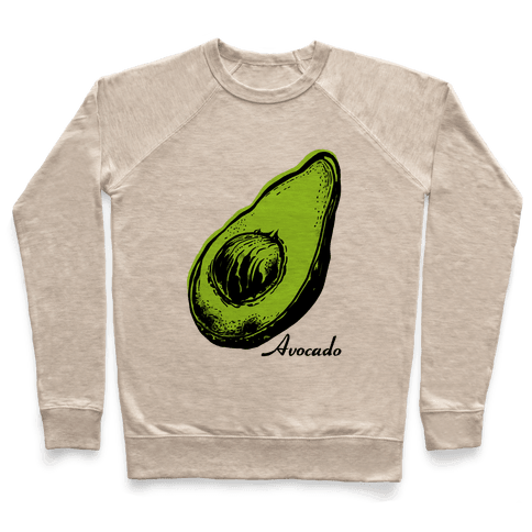 Pop Art Avocado Pullover
