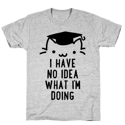 Graduation Cat T-Shirt