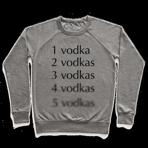 5 Vodkas Pullover