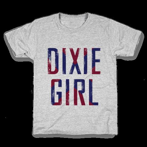 Dixie Girl Kids T-Shirt