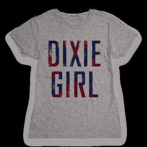 Dixie Girl Womens T-Shirt