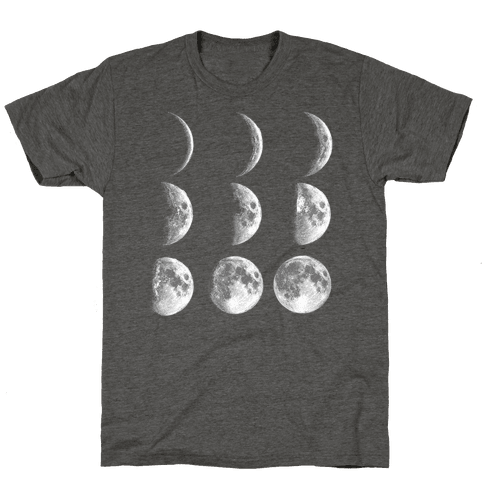 Moon Phases Mens/Unisex T-Shirt