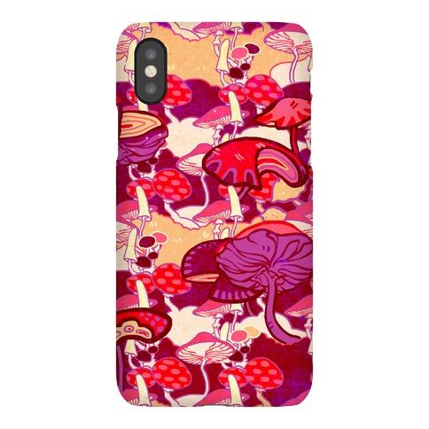 Mushroom Pattern Phone Case