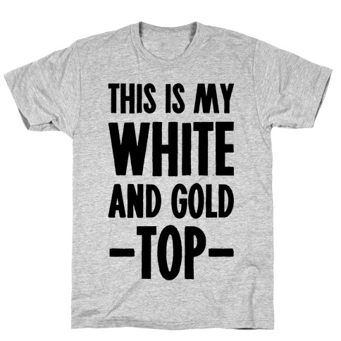 White and gold dress meme