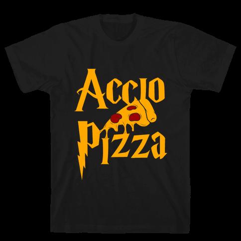 Accio Pizza Mens T-Shirt