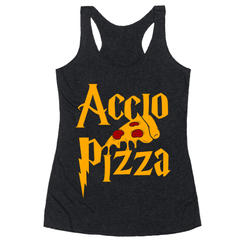 Accio Pizza Racerback Tank Top