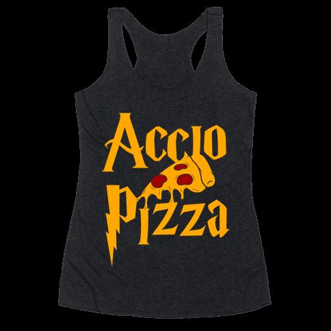 Accio Pizza Racerback Tank Top