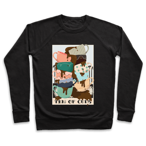 Ten Of Cups (Coffee) Tarot Card Pullover