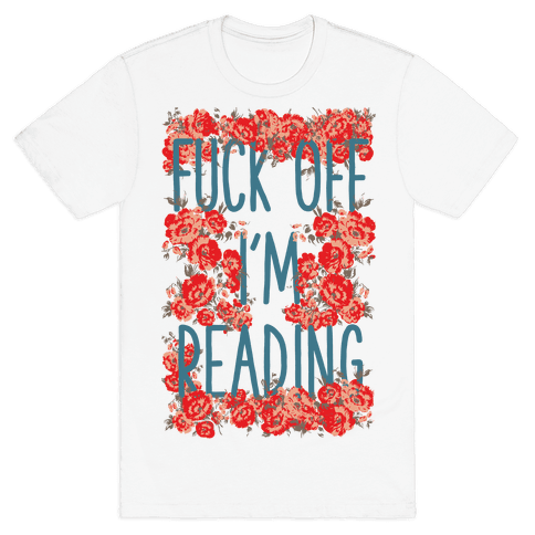 F*** Off I'm Reading Mens T-Shirt