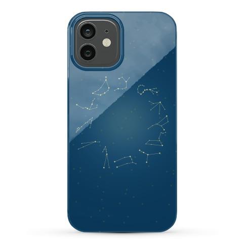 Zodiac Constellation Phone Case