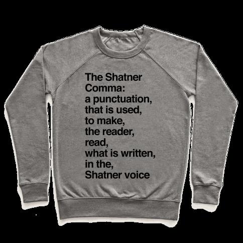 Shatner Comma Pullover