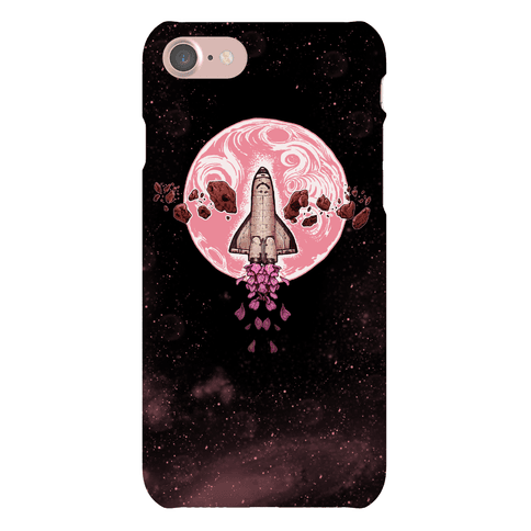 Spaceship Exploration Phone Case
